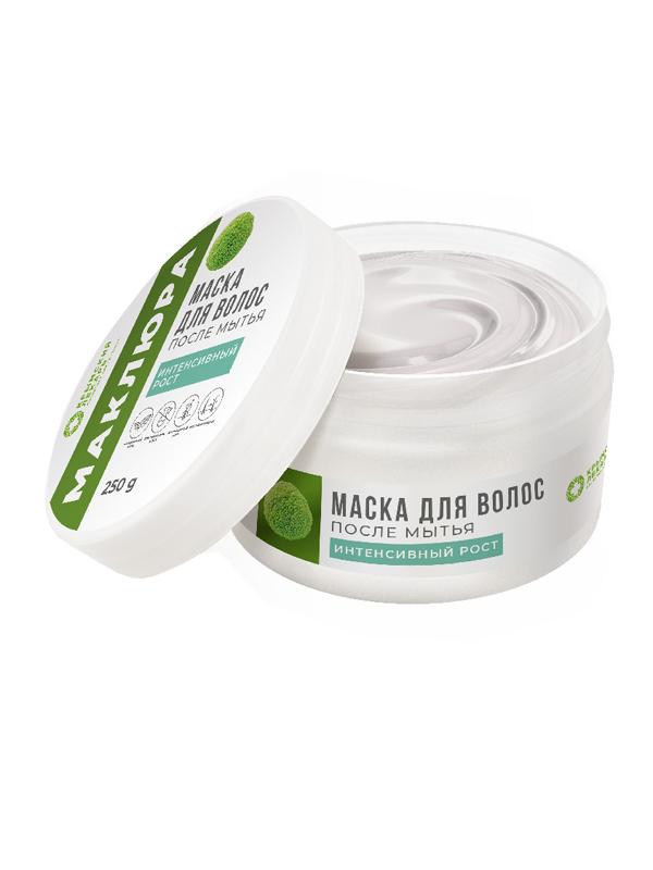 Маска для волос Маклюра - интенсивный рост после мытья