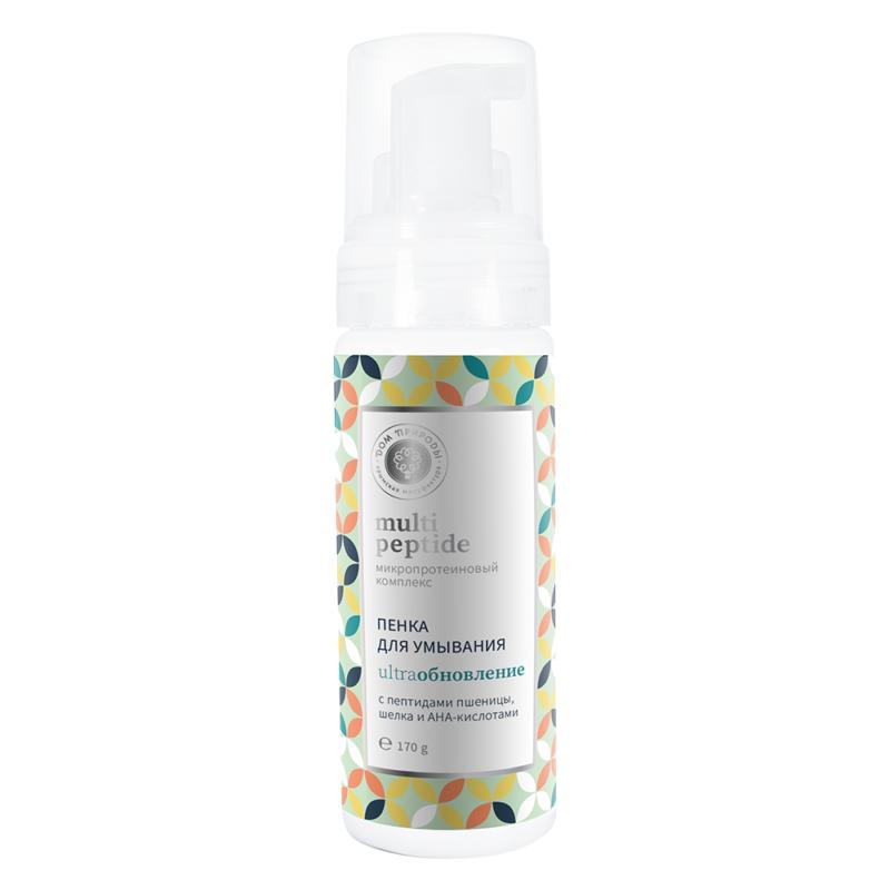 Пенка для умывания Peptide Ультраобновление с АНА-кислотами для нормальной и жирной кожи