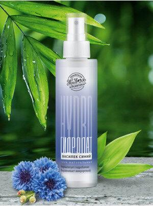 Гидролат Василек синий для лица и волос купить в Новосибирске