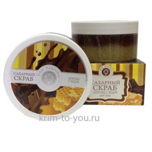 скраб шоколад с медом_