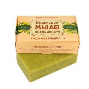 Крымское натуральное мыло МОЖЖЕВЕЛЬНИК